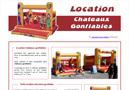 Animation et location chateau gonflable