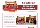 Animation et location chateau gonflable