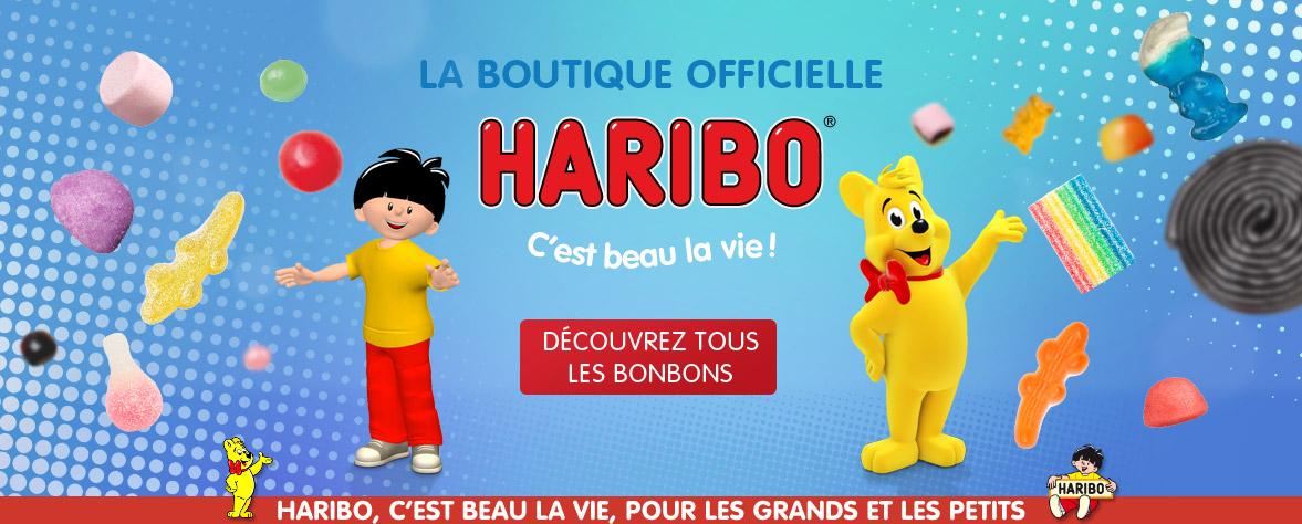 Bonbons HARIBO : acheter vos bonbons sur la boutique HARIBO